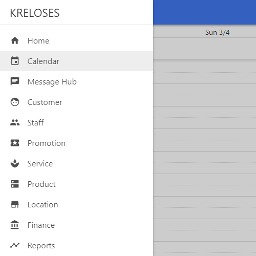 A list of Kreloses main features.